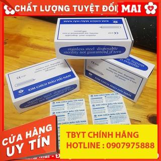 TBYT999 Kim Chích Mụn (máu) Blood Lancet HẢI NAM Hộp 200 loại NEW