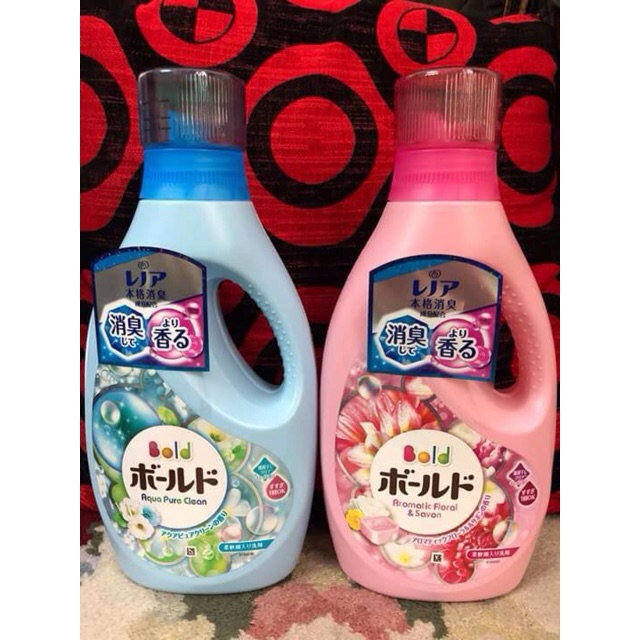 Chai nước giặt đậm đặc bold Nhật Bản 850gr