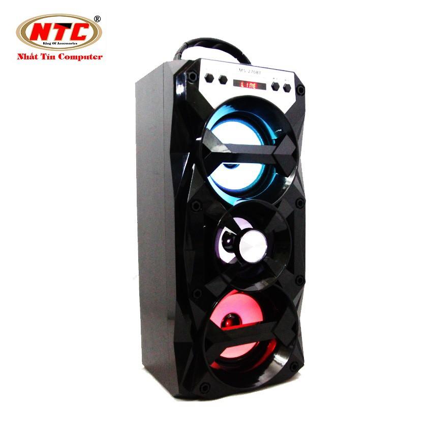 Loa bluetooth Karaoke xách tay NTC MS-270BT có đèn led - Công suất 12W (Màu ngẫu nhiên) - 2539728 , 898798490 , 322_898798490 , 399000 , Loa-bluetooth-Karaoke-xach-tay-NTC-MS-270BT-co-den-led-Cong-suat-12W-Mau-ngau-nhien-322_898798490 , shopee.vn , Loa bluetooth Karaoke xách tay NTC MS-270BT có đèn led - Công suất 12W (Màu ngẫu nhiên)