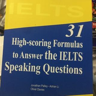 Bộ 31 high scoring speaking