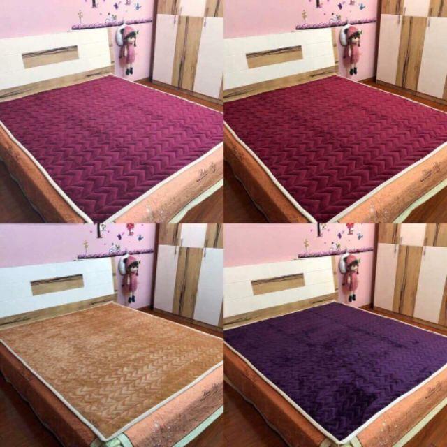 Thảm lông cừu trải giường