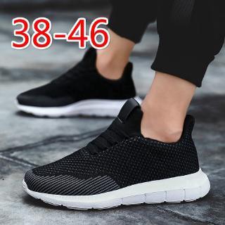 giày thể thao nam Giày đen cỡ lớn 45 46 giày chạy bộ cực lớn cho nam Giày thể thao cho nam