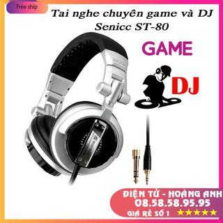 Tai nghe chuyên game và DJ Senicc ST-80 thumbnail