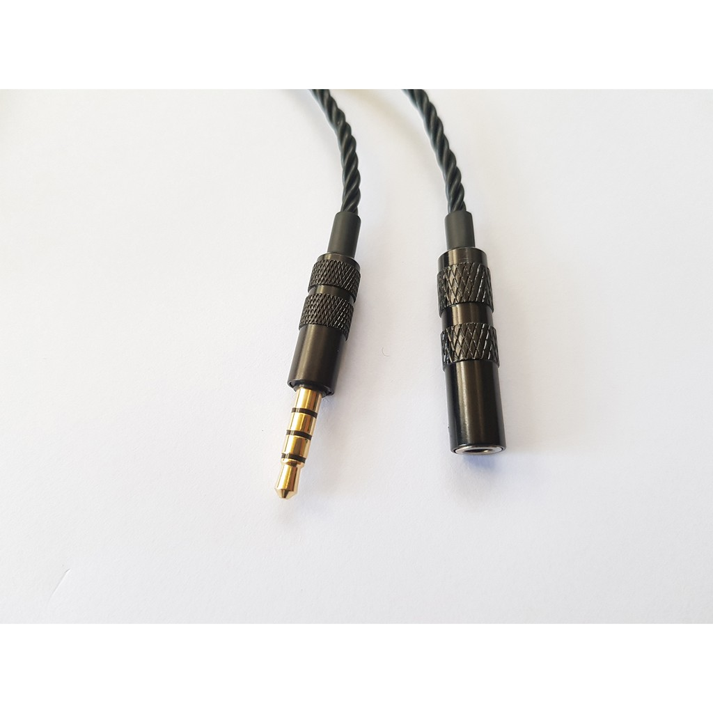 Cáp 3.5mm nối dài chất lượng cao dùng được Micro và tăng giảm âm lượng