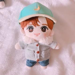 [OUTFIT DOLL] Áo khoác cổ lông Milk Bottle cho doll 20cm