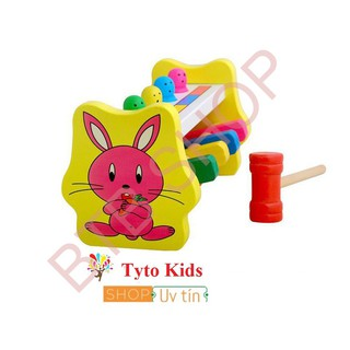 [GIÁ SỐC] Bộ đập chuột – đồ chơi gỗ thông minh