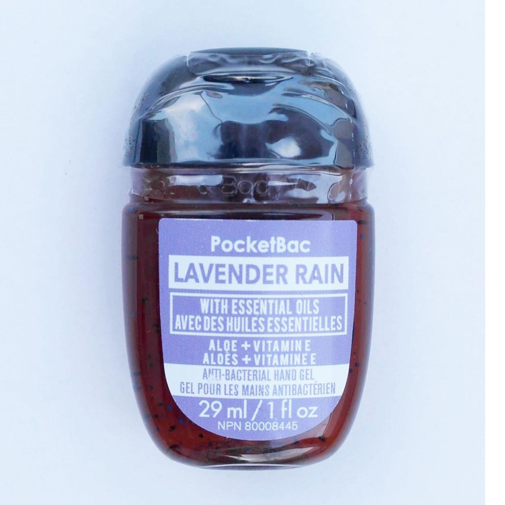 Rửa tay khô Lavender Rain - Bath & Body Works (29ml)