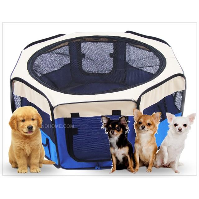 คอกสุนัข คอกแมว คอกสัตว์เลี้ยงพับได้ กันยุง กระเป๋าสัตว์เลี้ยง