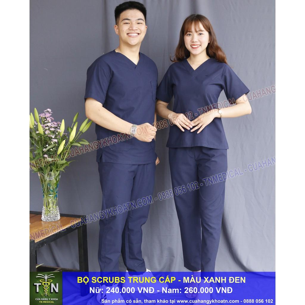 Bộ Scrubs Bác Sĩ Vải Trung Cấp - Thương hiệu TN Medical