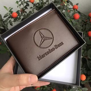 Bóp ví Nam - Ví nam Mercedes-Benz thời trang cao cấp trẻ trung nam tính, Ví da nam chất PU đẹp hàng hiệu CHÍNH HÃNG thumbnail