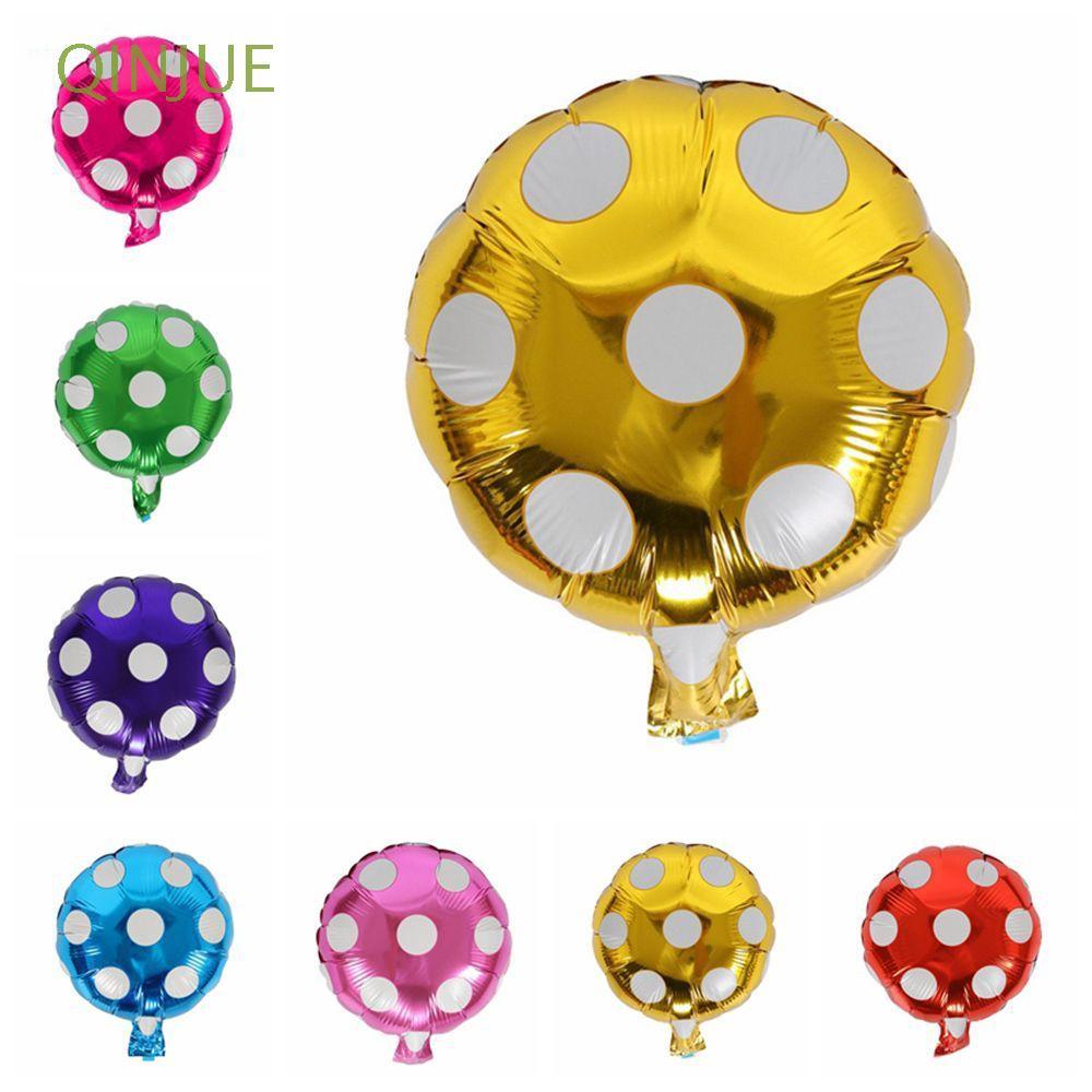 QINJUE 3PCS Love Romantic Birthday Decor Gifts Party Supplies Helium Balloon