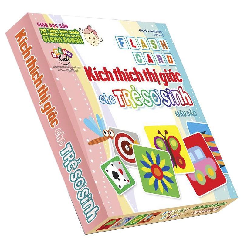 Flash Card Kích Thích Thị Giác Cho Trẻ Sơ Sinh 4 – Màu Sắc