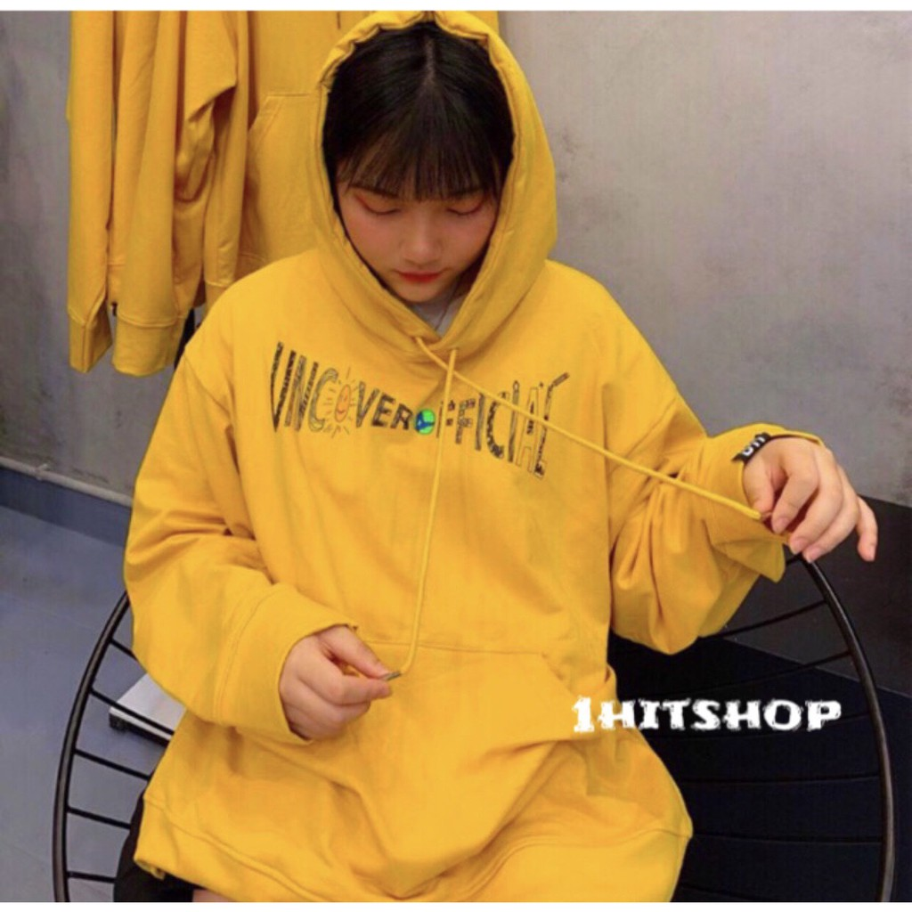 Áo Hoodie UNCOVER OFFICIAL Vàng Unisex