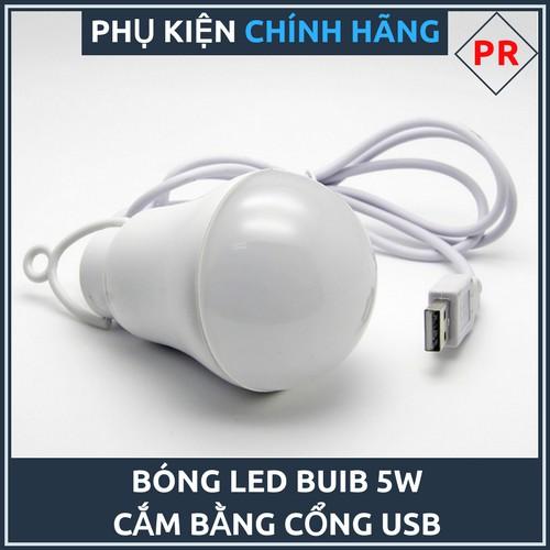 [Xả kho] Bóng đèn LED dây cắm USB BULB 5W MỚI NHẤT - Màu ngẫu nhiên