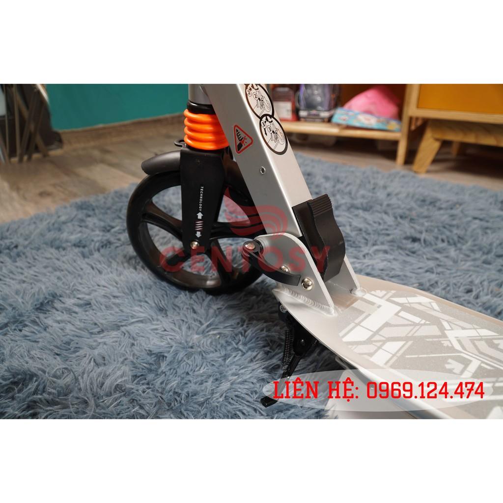 Xe Trượt Scooter Người Lớn Centosy A5YA - Bạc