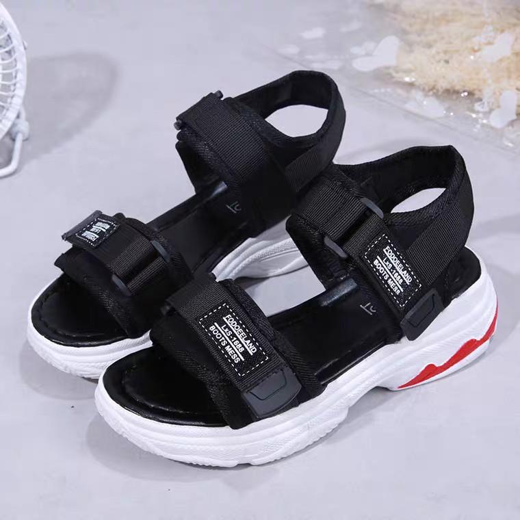 [Mã FASHIONXANH44 giảm 10% tối đa 30k đơn từ 99k] sandal nữ💞Bụng Bự Store💞sandal ulzzang nữ đế đỏ hàng nhập khẩu mã B5