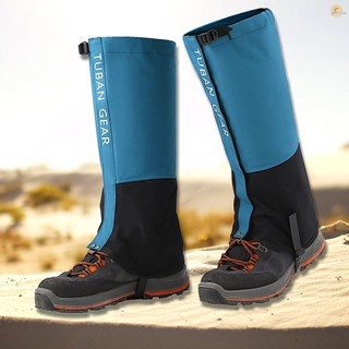 TOP Leg Gaiters Waterproof Adjustable Anti-Tear Snow Boot Gaiters for Outdoor Snowshoeing Hiking Skiing