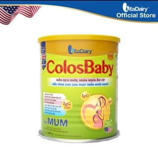[Mua 4 lon có quà] Sữa bột Colosbaby Mum 800g