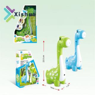 Kids Magic Cartoon Dinosaur Design Microphone Speaker with MP3 Recorder Amplification