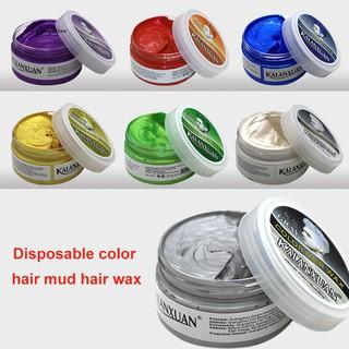 Sáp vuốt tạo kiểu và nhuộm màu tóc tạm thời dung tích 120g dành cho nam và nữ thumbnail
