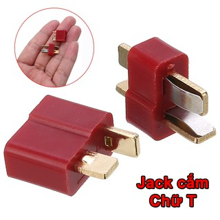 [HCM] – Jack cắm chữ T chịu tải 50A dùng đấu Pin Lipo   PDB   FC trong RC Quad Racing