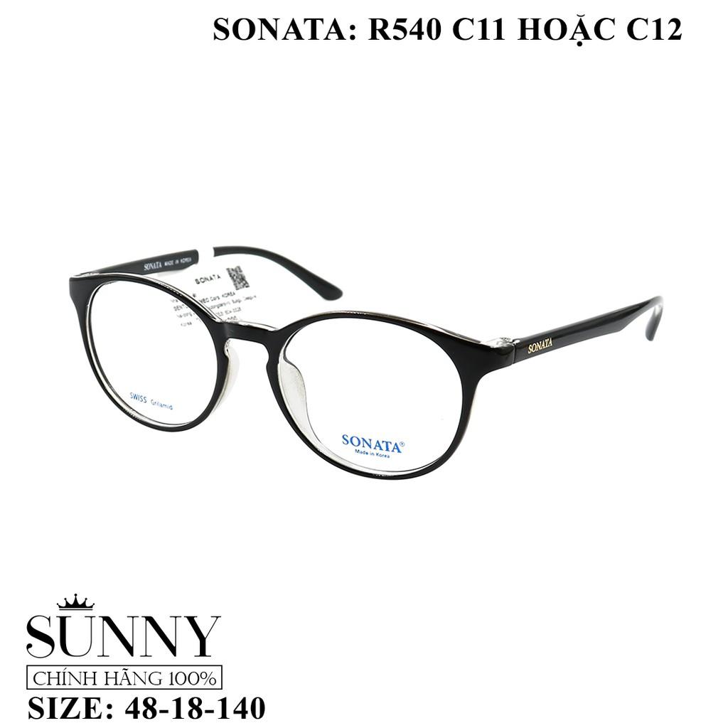 R540 – gọng kính Sonata chính hãng, bảo hành toàn quốc