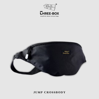 Túi bao tử nam nữ Jump đeo ngực, đeo chéo Three-Box Brand – 100% Polyester