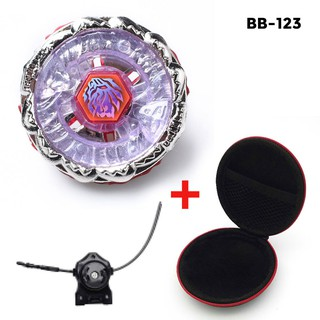 Beyblade Metal Spin Tops 4D BB123 FUSION HADES with Launcher Case Spinning Top Toy Gift for kids