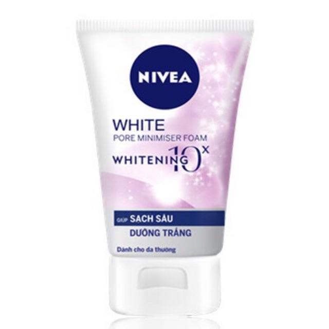 Sữa Rửa Mặt Sạch Sâu và Dưỡng Trắng Nivea White 100g - 15147252 , 2245517503 , 322_2245517503 , 54000 , Sua-Rua-Mat-Sach-Sau-va-Duong-Trang-Nivea-White-100g-322_2245517503 , shopee.vn , Sữa Rửa Mặt Sạch Sâu và Dưỡng Trắng Nivea White 100g