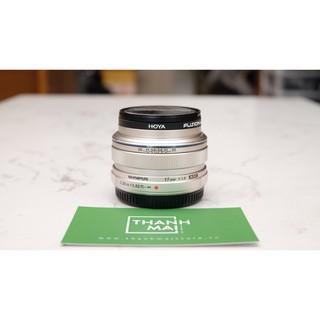 Ống kính Olympus M.Zuiko Digital ED 17mm F 1.8 ( Bạc) thumbnail