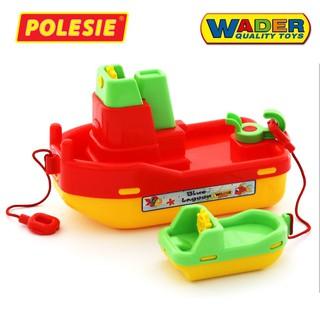 Bộ đồ chơi mô hình Tàu kéo Số 402 Polesie Toys