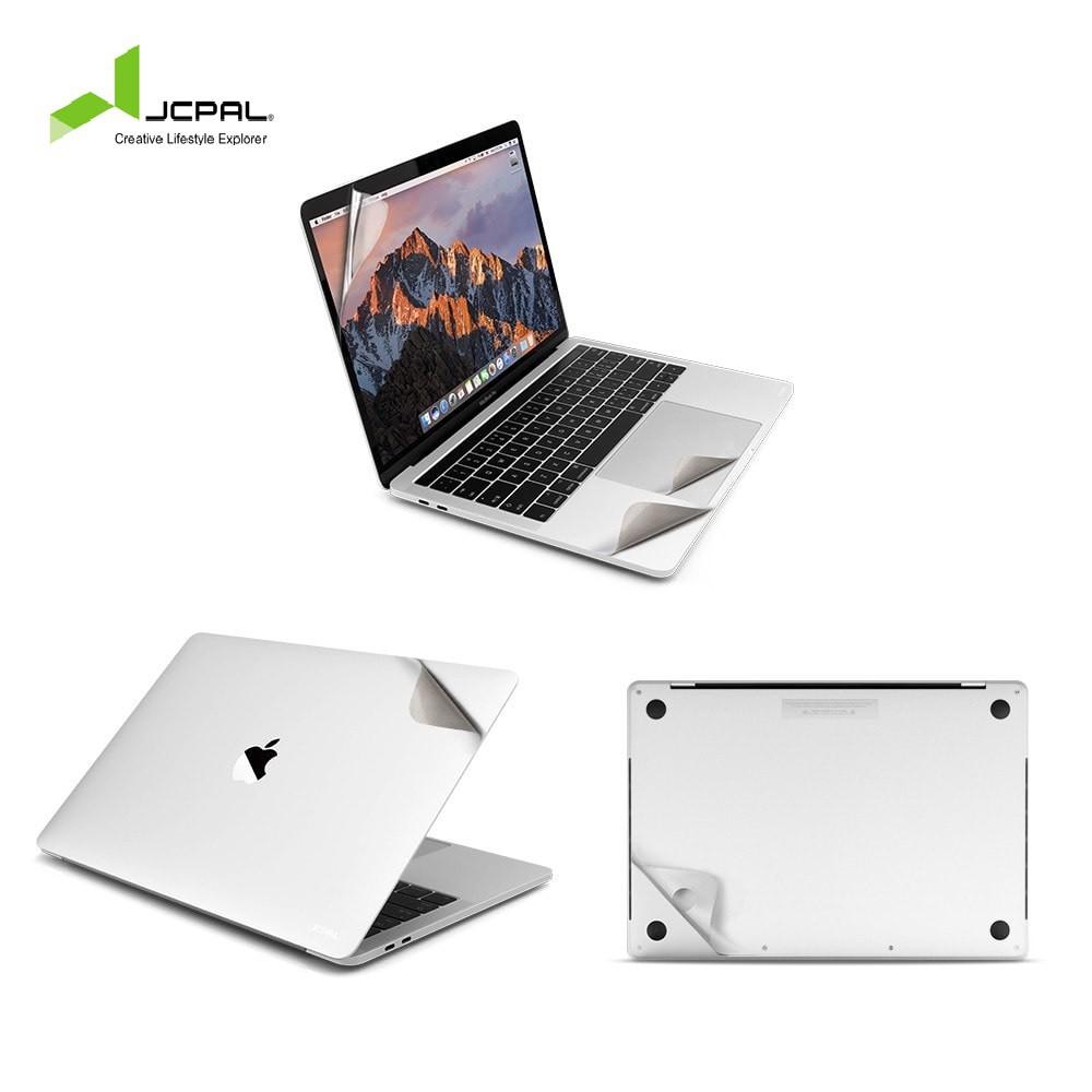 Bộ dán màu silver jcpal 5 in 1 dành cho các dong macbook Giá chỉ 585.000₫