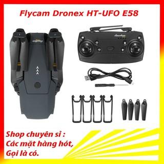 [Mã ELMS03 giảm 7% đơn 500K] Flycam dronex HT-UFO - Có camera 720p kèm phụ kiện - Flycam giá rẻ e58 thumbnail