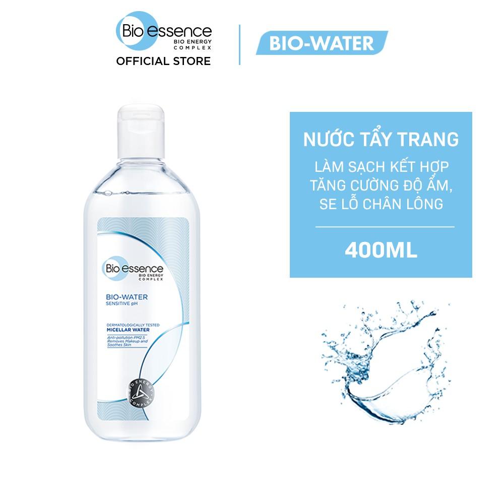 Nước tẩy trang ẩm mượt mịn màng BioEssence BioWater BioEssence Water Micellar Water 400ml