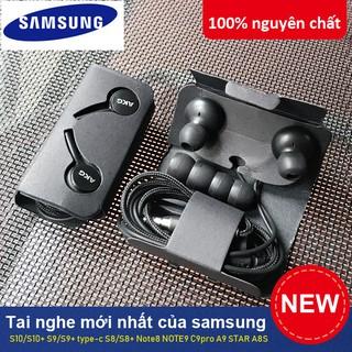 Tai nghe có dây cho Samsung Galaxy S9, S8, Note 8, Note 9 và các dòng điện thoại khác bảo hành 12 tháng SAMSUNG AKG S10