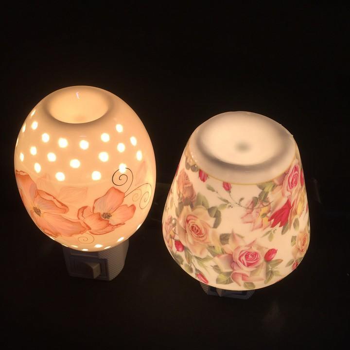 Đèn ngủ xông TINH DẦU mini treo tường đẹp (Giao ngẫu nhiên)