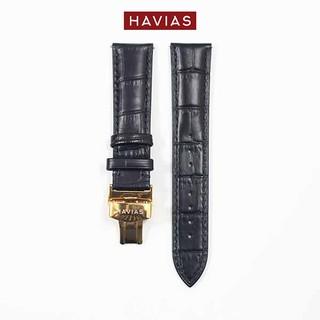 Dây đồng hồ HAVIAS Lux8 - Dây Đen (Back)