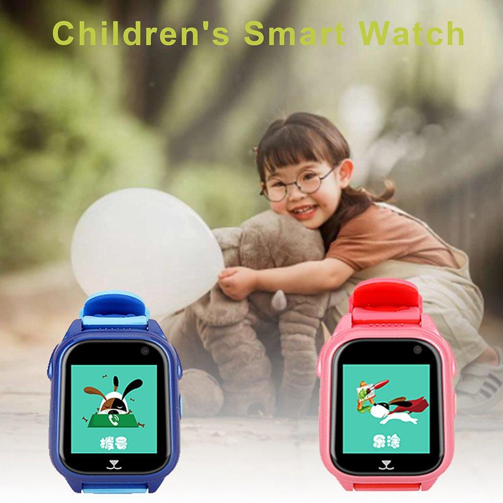 นาฬิกา⭐M06 (s8) Positioning Waterproof Swimming Touch Children Smart Call Watch