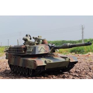 Đồ chơi xe tăng điều khiển bắn đạn nhựa M1A2
