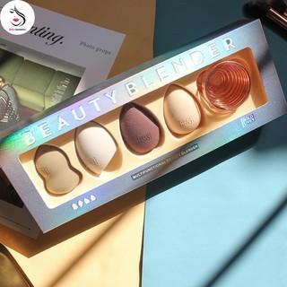 Set Bông Mút Trang Điểm Beauty Blender HOLD LIVE