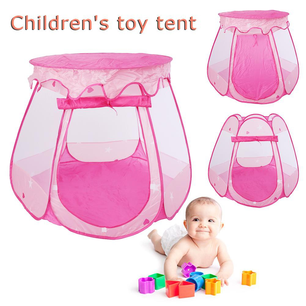 ★READY STOCK AND COD★Childrens Kids Baby Tent Ball Pit Pool Playhouse+100 Colorful balls+Storage★★