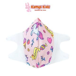 Khẩu trang giấy trẻ em KAMYS KIDS chống bụi, bảo vệ bé khỏi những tác nhân gây hại thumbnail