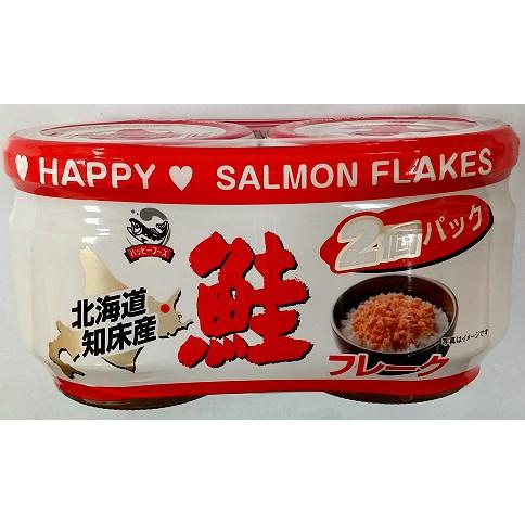 [Date 02/19] Cặp ruốc cá hồi Hokkaido Nhật bản Happy Foods 2*60gr