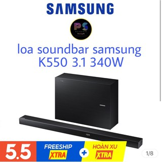 Loa Thanh SoundBar SamSung K550 3.1 Cs340W chính hãng Mới 100%