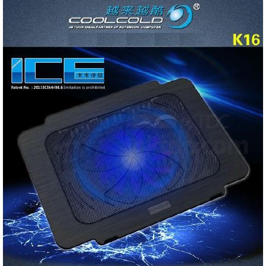 [BẢO HÀNH 1 NĂM] Đế Laptop COOLCOLD K16 – MERCISHOP