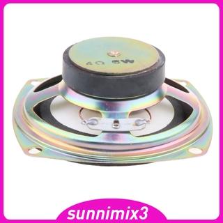 [Kayla Computing Shop]3 Inch Speaker 5W 4 HiFi Full-Range Speaker for DVD/Multimedia Sub-box Horn