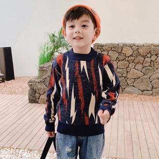 Áo len chần bông trẻ em N621