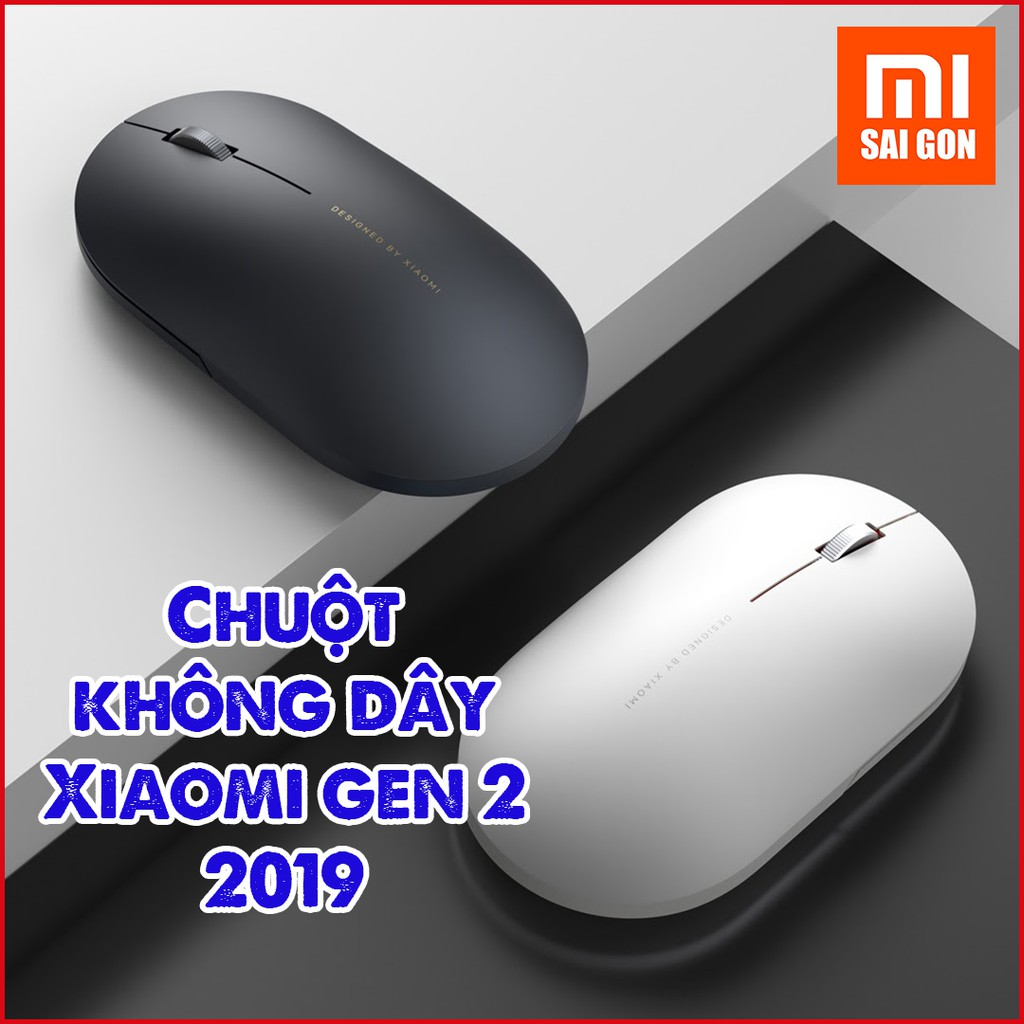 Chuột không dây Xiaomi gen 2 2019 - Chuột Xiaomi không dây wireless Portable Mouse