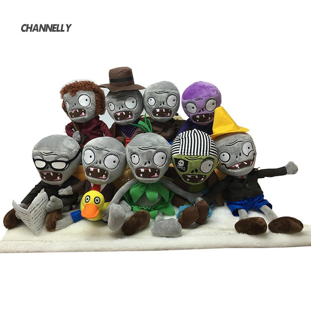 ■Cy Cartoon Zombies Corpse Stuffed Soft Plush Toy Doll Children Kids Birthday