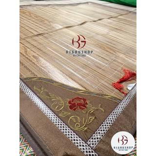 Chiếu trúc tăm vân gỗ loại sịn xuất khẩu